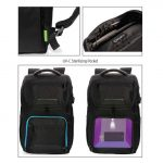CASTILE- UV-C Sterilization Backpack in Anti-microbial RPET Fabric (2)