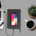 PESSAC – SANTHOME A5 Notebook With Wireless Charger (4)
