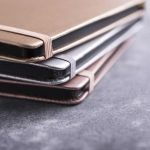 PU A5 Notepad In Metallic Gold Color (2)