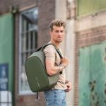 XDDESIGN BOBBY HERO Anti-theft Backpack in rPET material Green (6)