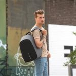 XDDESIGN BOBBY HERO Anti-theft Backpack in rPET material Grey (4)
