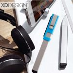 XDDESIGN Kube Metal 4 In 1 Pen – Grey-Blue (3)